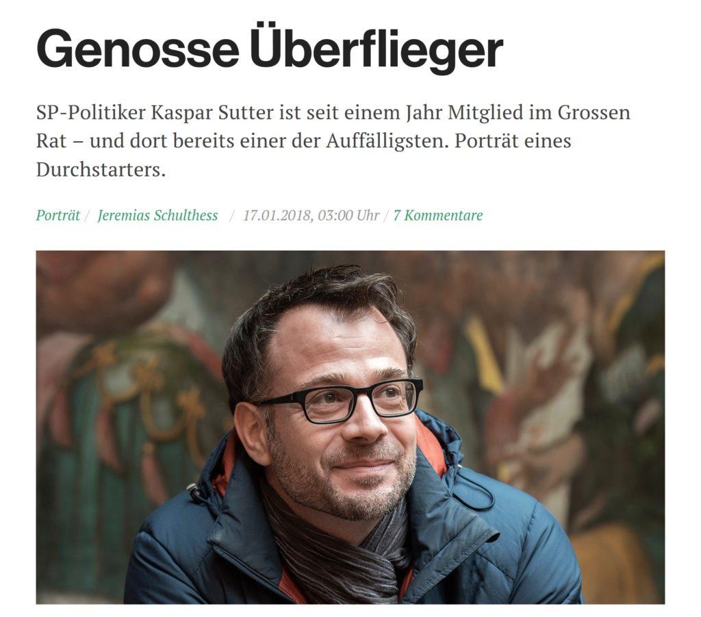 Kaspar Sutter SP Basel
