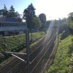 Die Zolli-Brücke entsteht entlang dieser Gleise