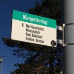 Zukünftige S-Bahn-Station Morgartenring