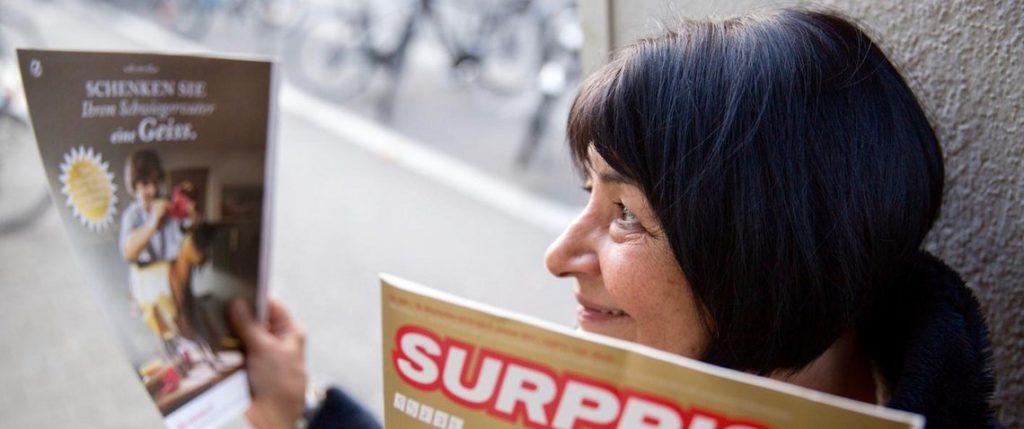 Surprise Basel Strassenmagazin Selbsthilfe