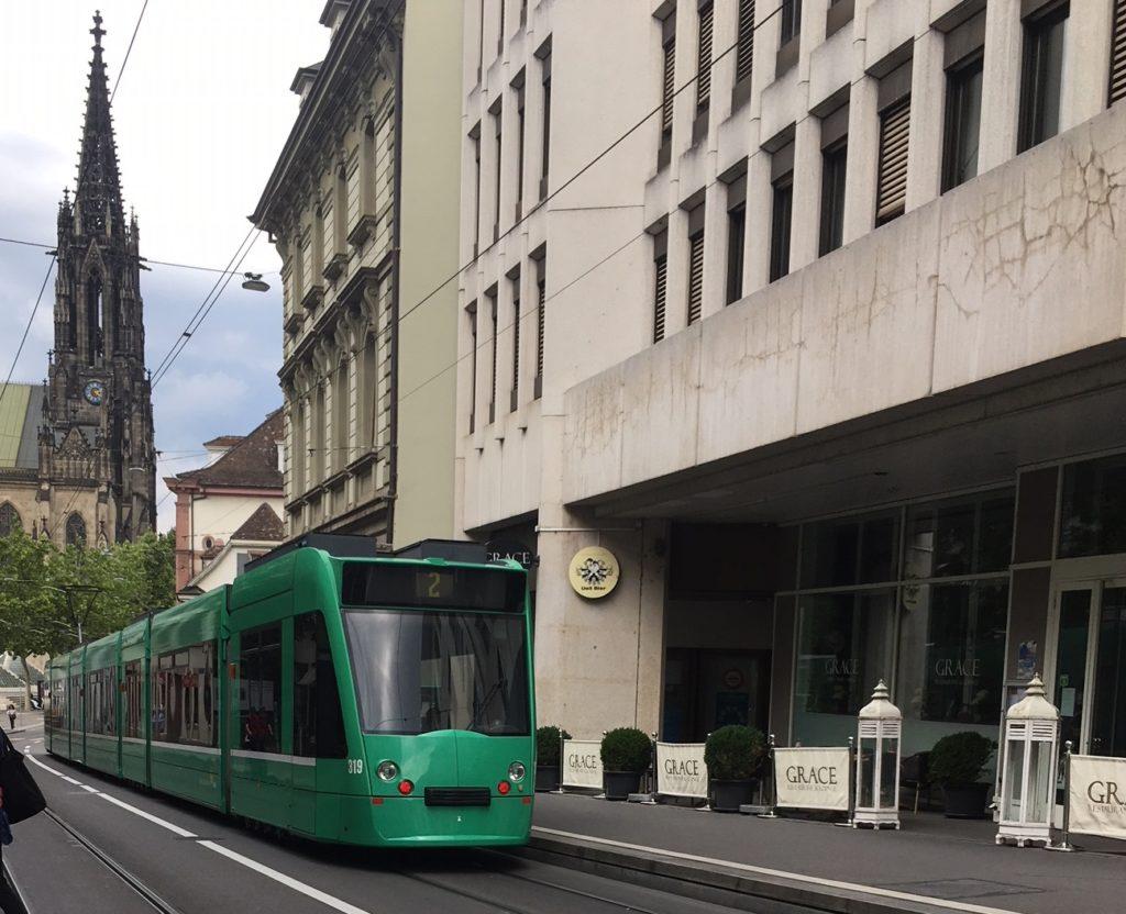 BVB Basel Kaphaltestellen