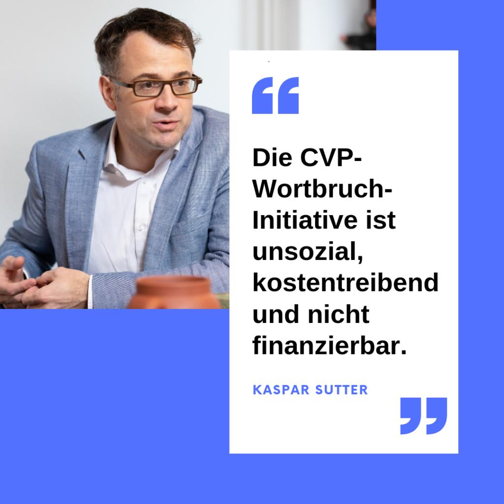 Kaspar Sutter Steuern Basel